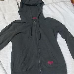 Fox Women's Gray Hooded Jacket